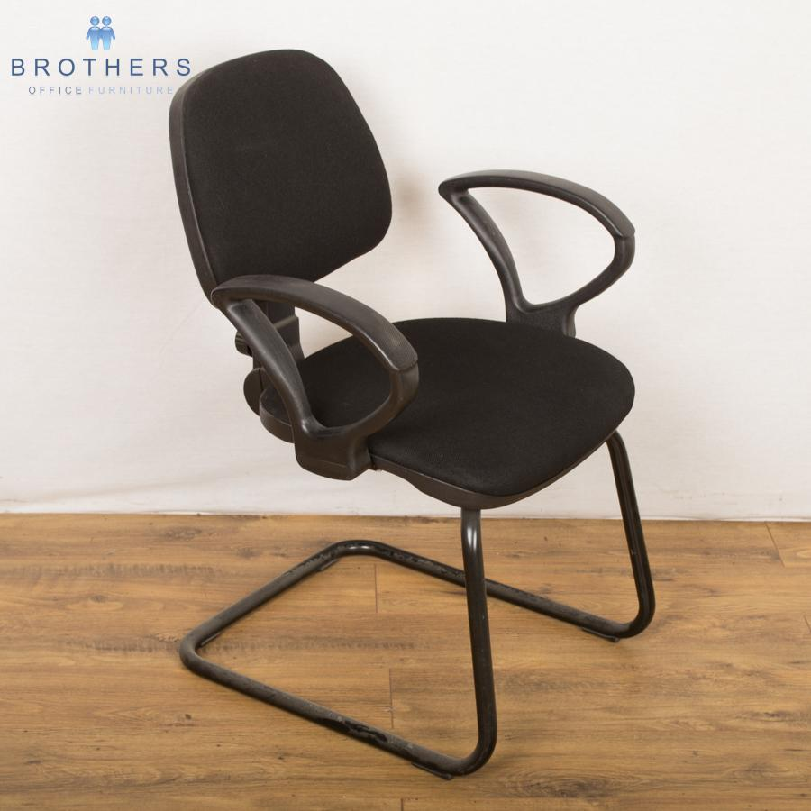 Forrest Black Meeting Chair