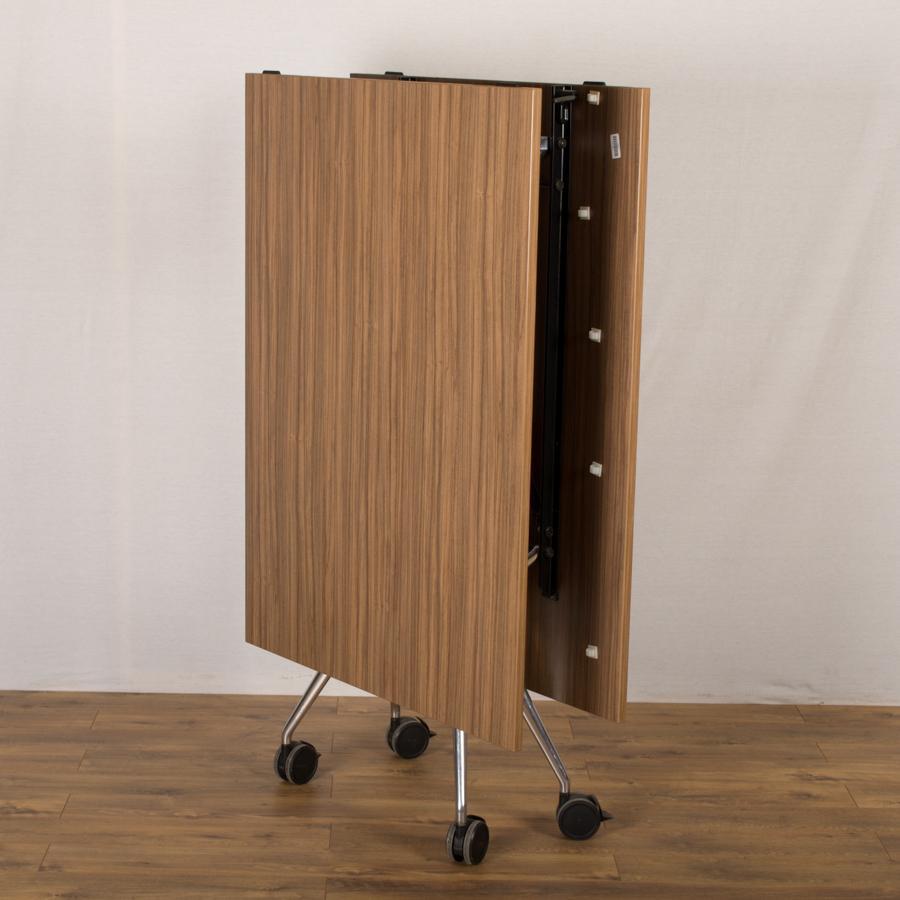 Wilkhahn Walnut X Folding Boardroom Table - Folding boardroom table