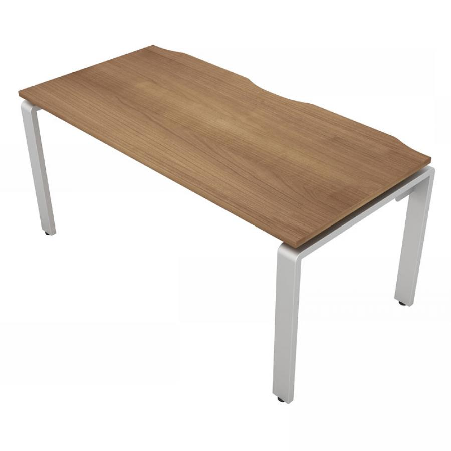 Aura 600D Single Bench Desk