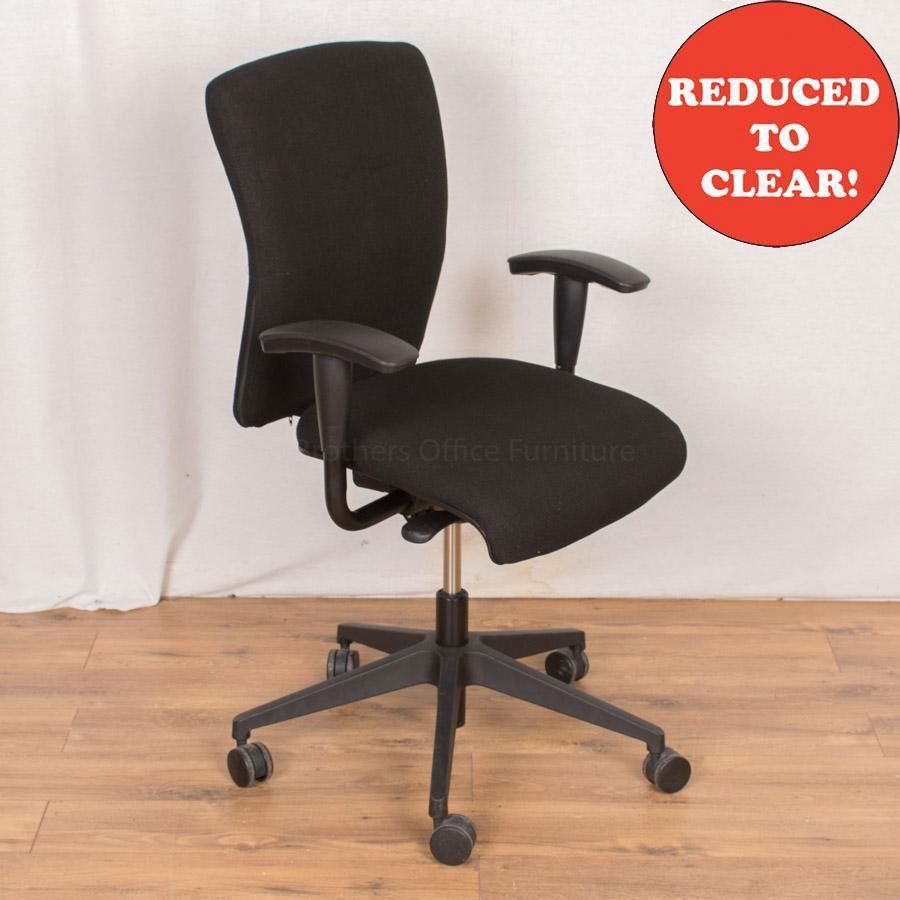 Orangebox Go Black Operators Chair
