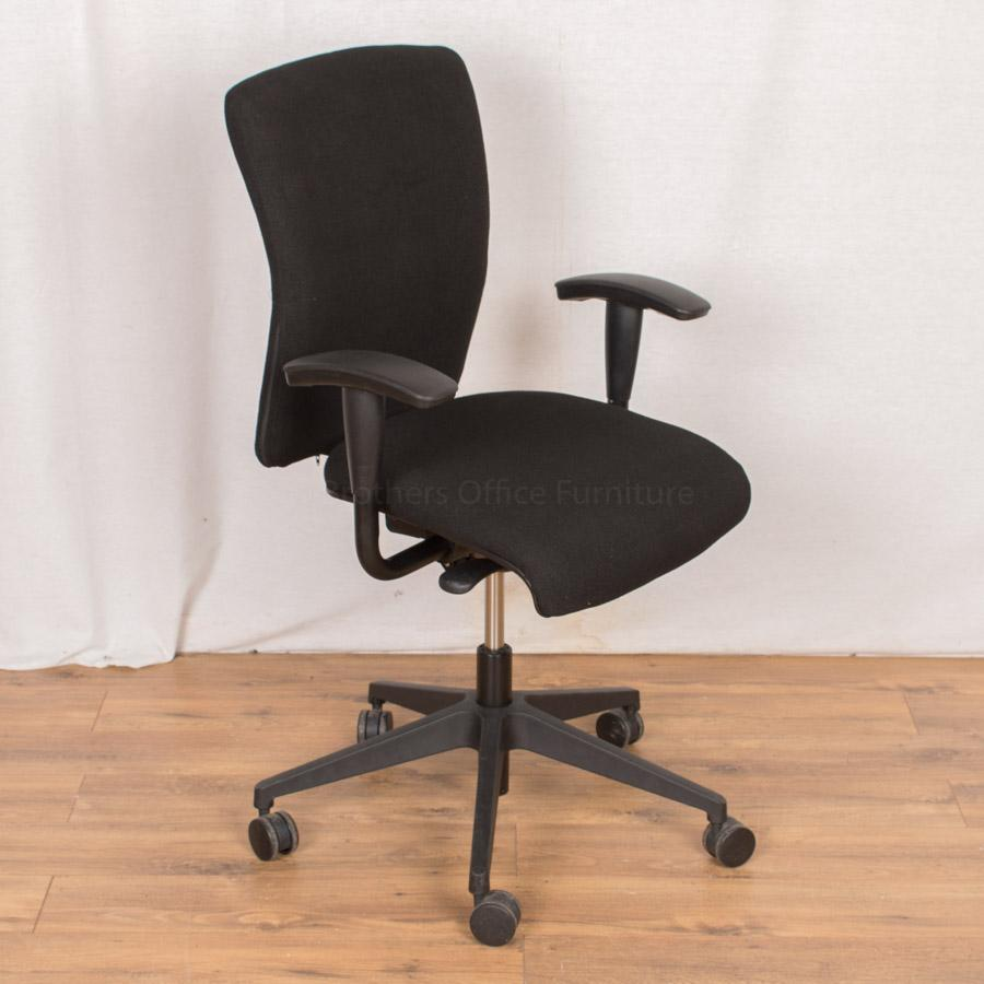 Orangebox Go Black Operators Chair