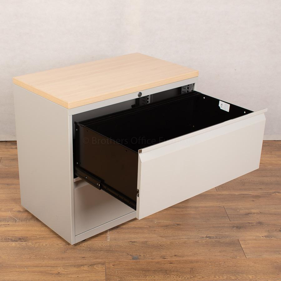 Herman Miller 2 Drawer Lateral Filing Cabinet