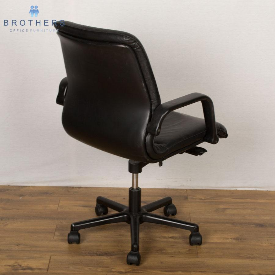 Real Leather Managers Office Chair