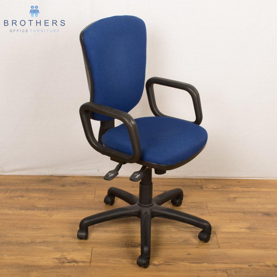 Orangebox Blue 2 Lever Operators Chair