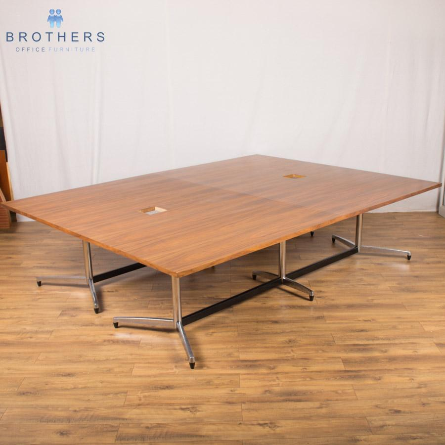 Vitra Eames Walnut 3000x2250 Boardroom Table