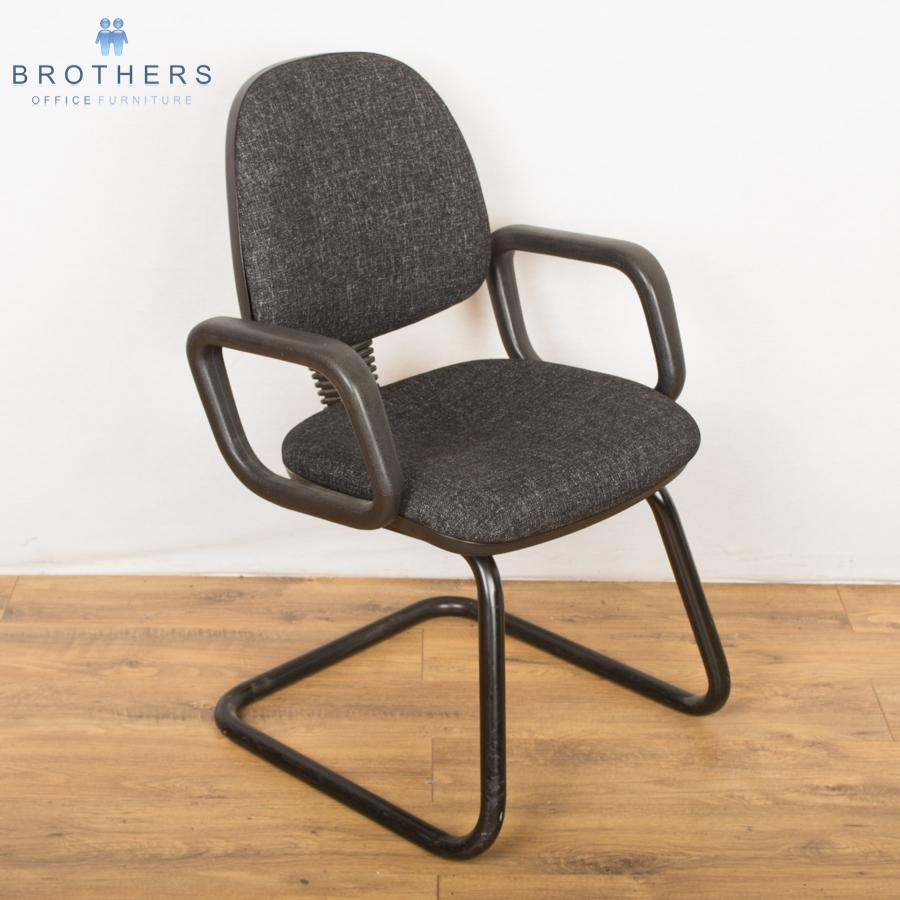 Charcoal Mid Back Meeting Chair