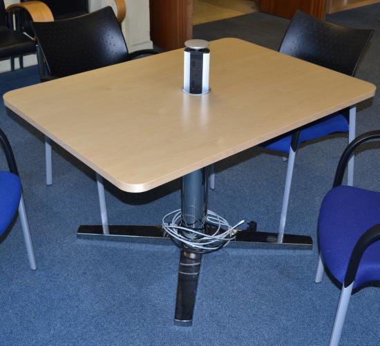 Kinnarps Maple Veneer Meeting Table