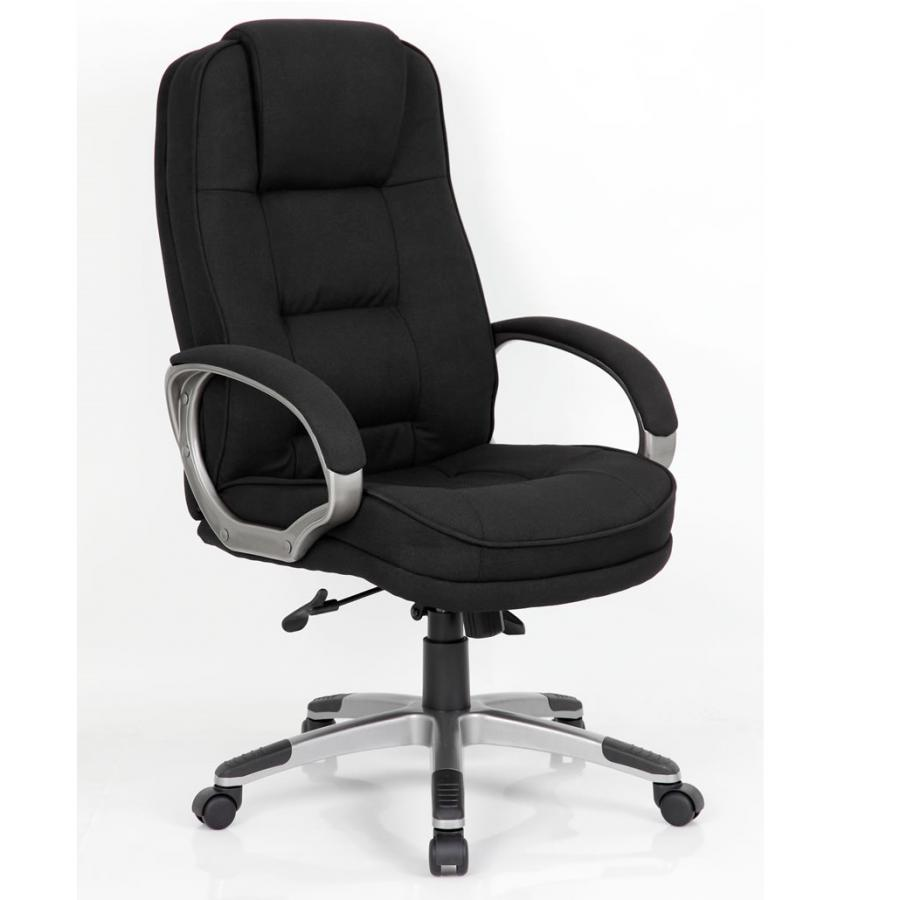 Monterey Black Fabric Executive Chair
