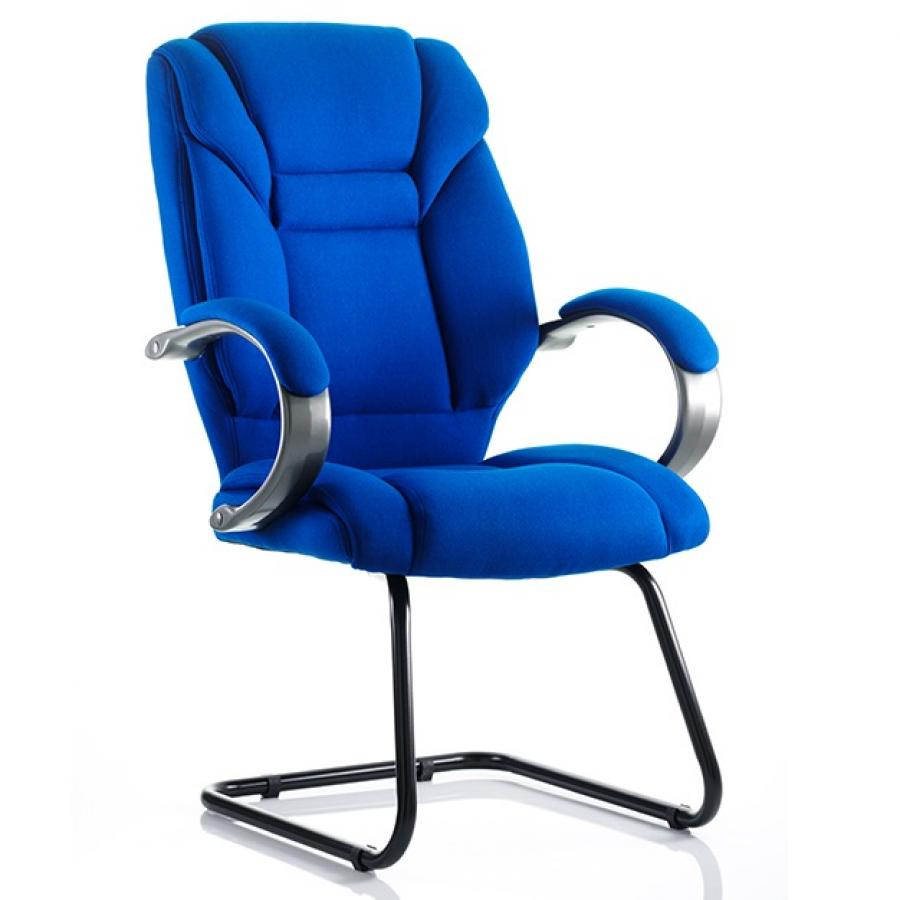 Galloway Fabric Cantilever Chair