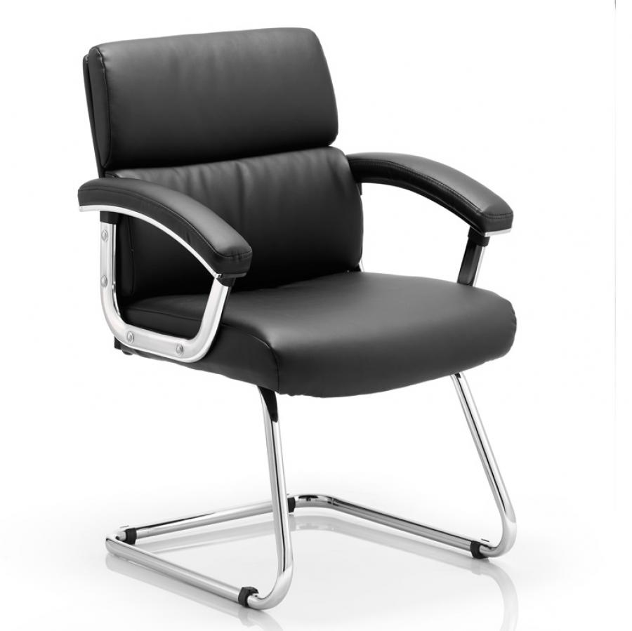 Desire Cantilever Black Chair