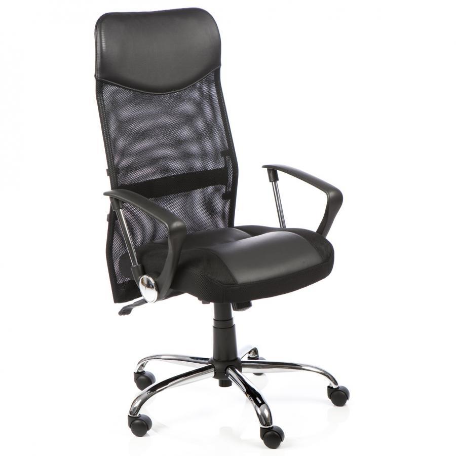 Vegas Black Leather Executive Chair