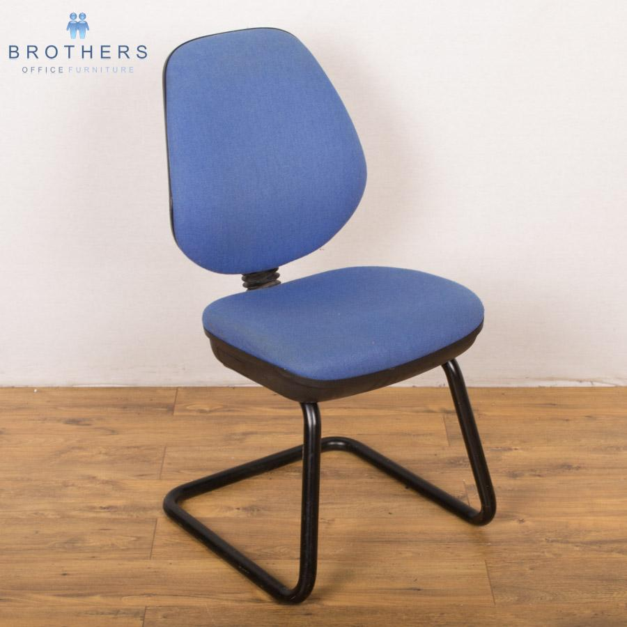Paragon Light Blue Cantilever Meeting Chair