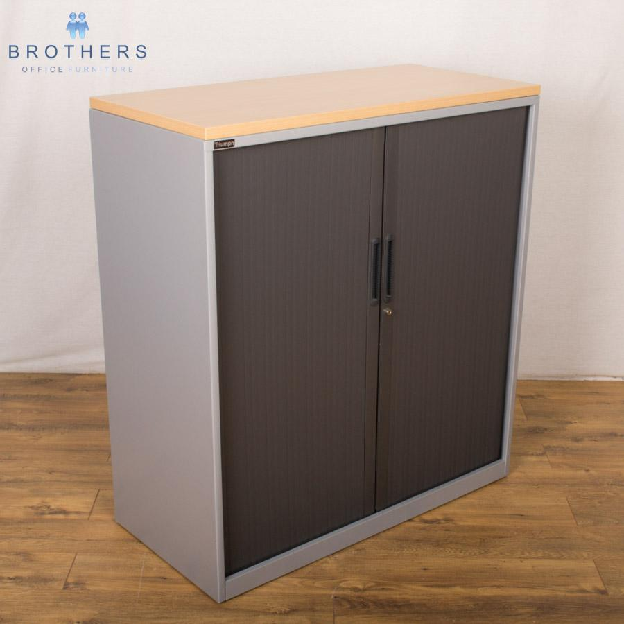 Property Brothers Two Tone Kitchen Cabinets: Triumph 2 Tone 1100H Tambour Cupboard