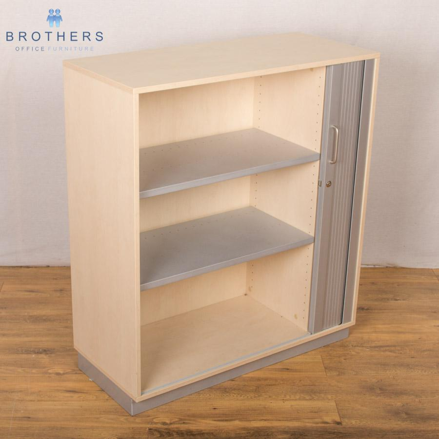 Balma Maple 1140H Tambour Cupboard