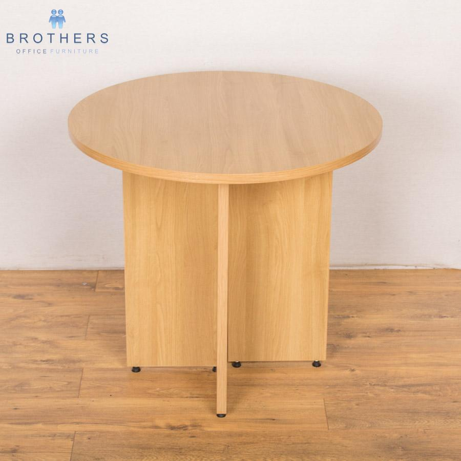 Sven Natural Oak 800D Round Table