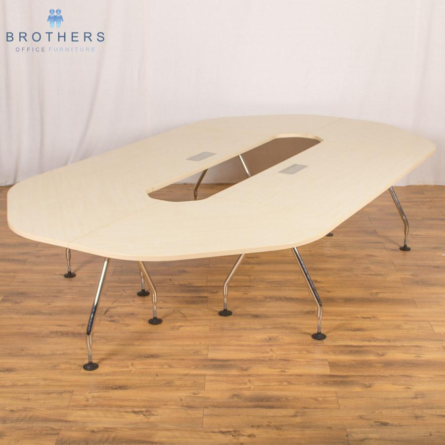 Vitra Maple 3600x2000 Boardroom Table