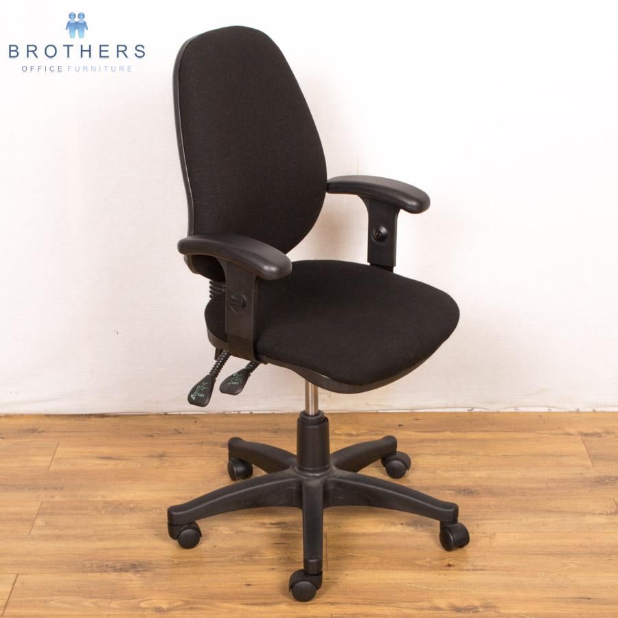 Delta 3 Lever Office Chair with Arms