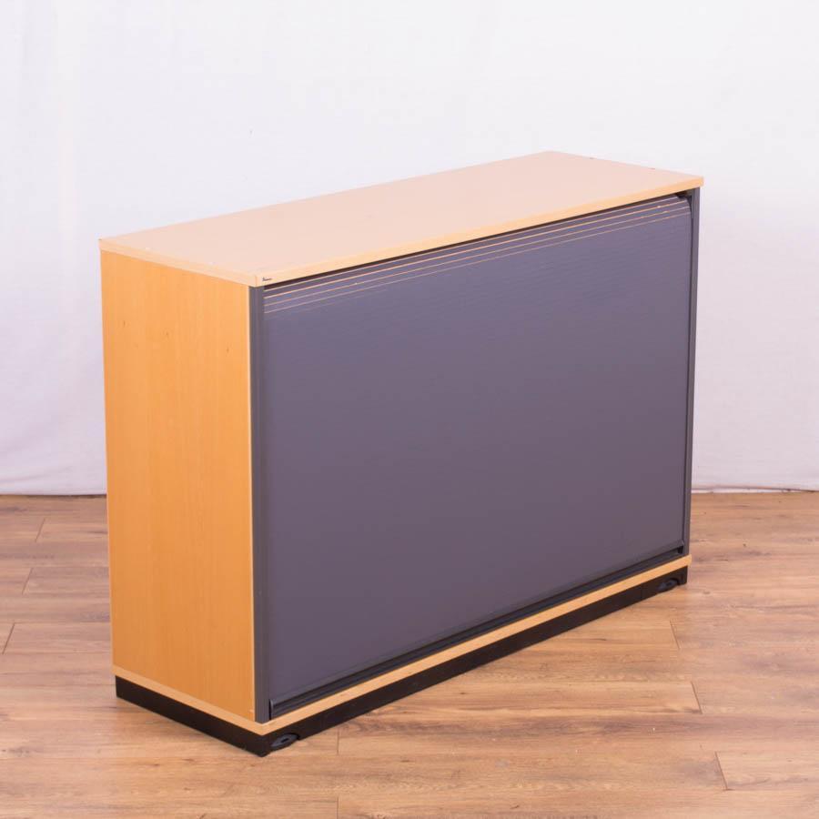 Kinnarps Two Tone 850H Tambour Cupboard