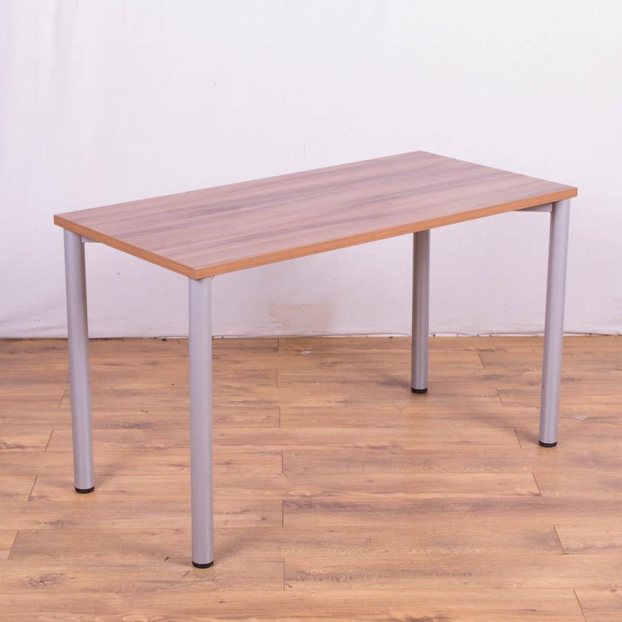 Walnut Effect 1200x600 Office Table