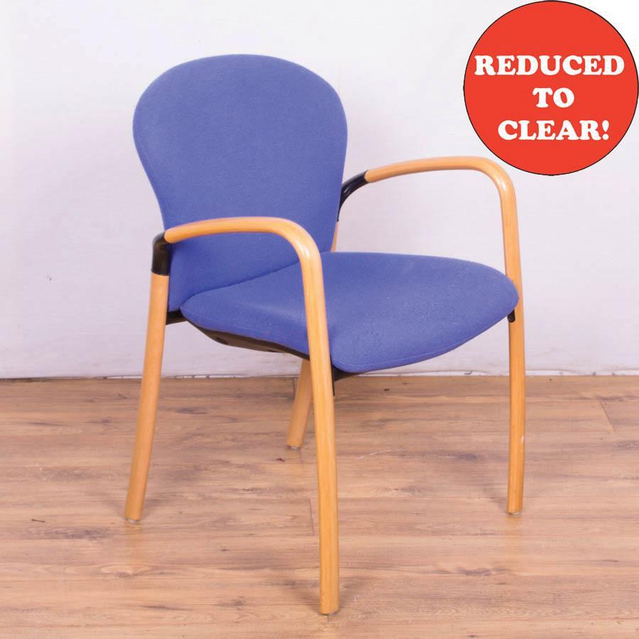 Antocks Lairn Sky Blue Meeting Chair