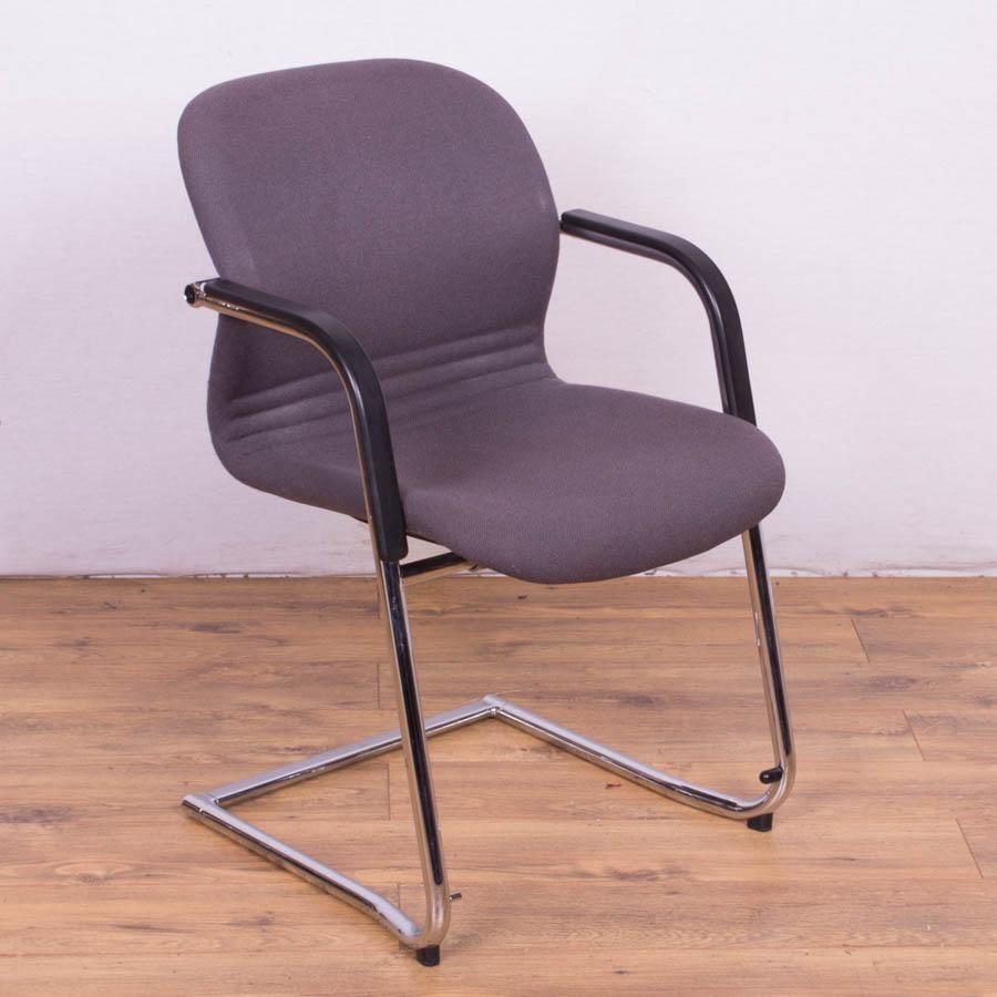 Wilkhahn Grey Fabric Meeting Chair