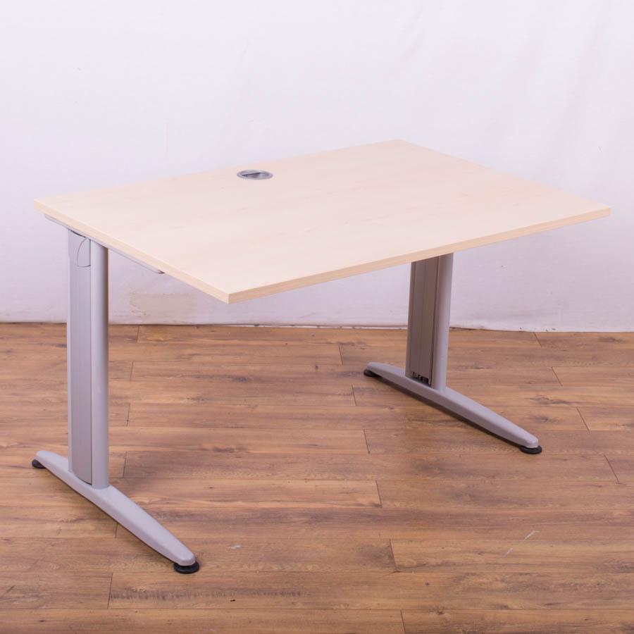 Senator Maple 1200x800 Straight Desk
