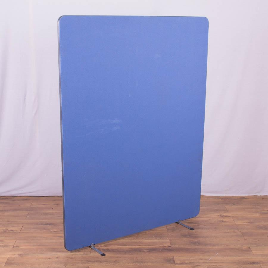 Blue 1800H x 1400W Freestanding Screen