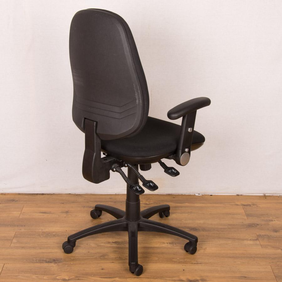 Black Fully Adjustable Operators Chair