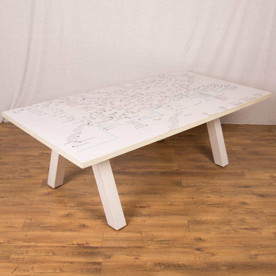 London Underground 2200x1200 Boardroom Table
