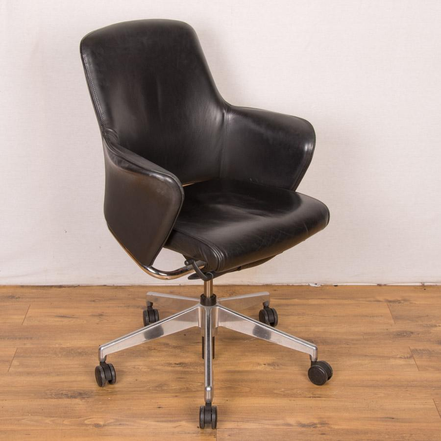 Senator Rhapsody RH900 Black Leather Office Chair