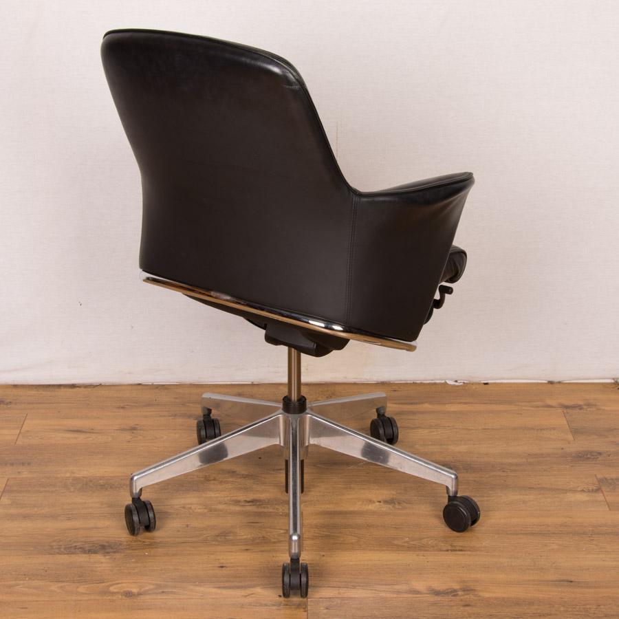 Senator Rhapsody RH900 Black Leather Office Chair