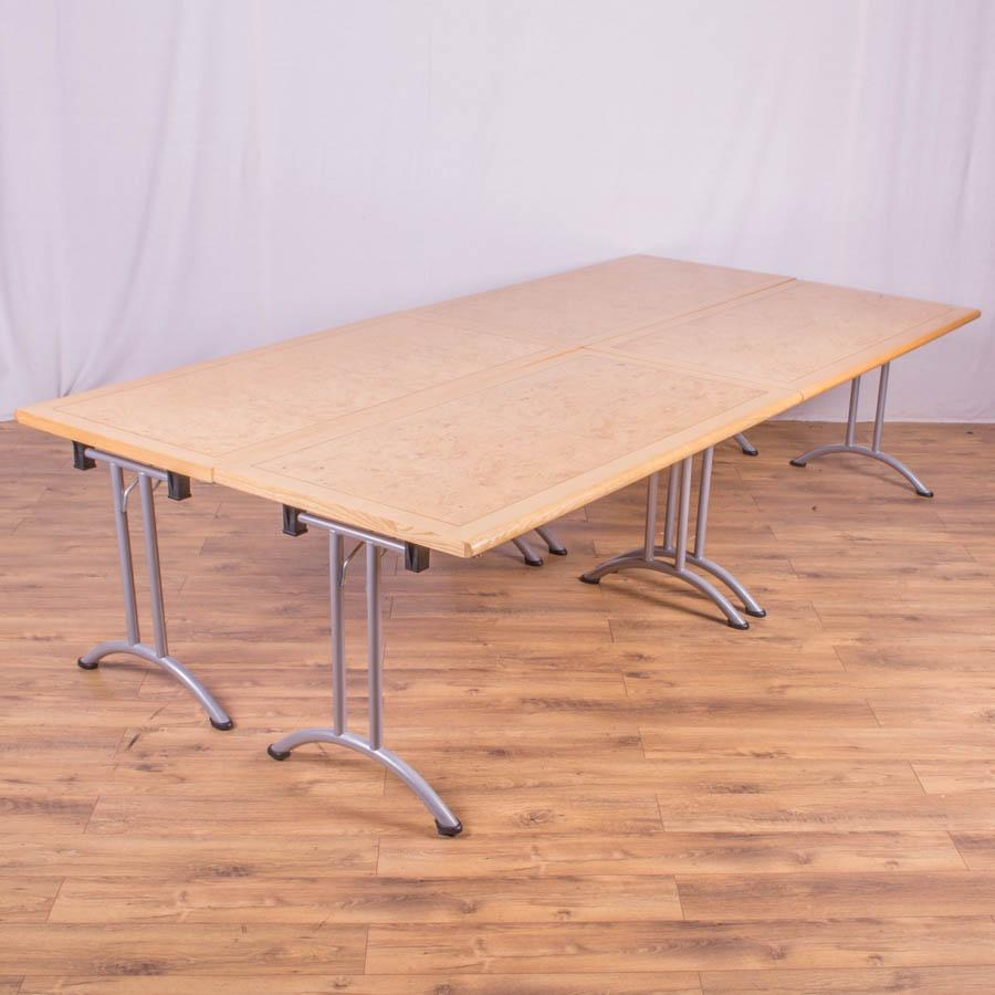 Burr Ash Veneer 3000x1500 Boardroom Table