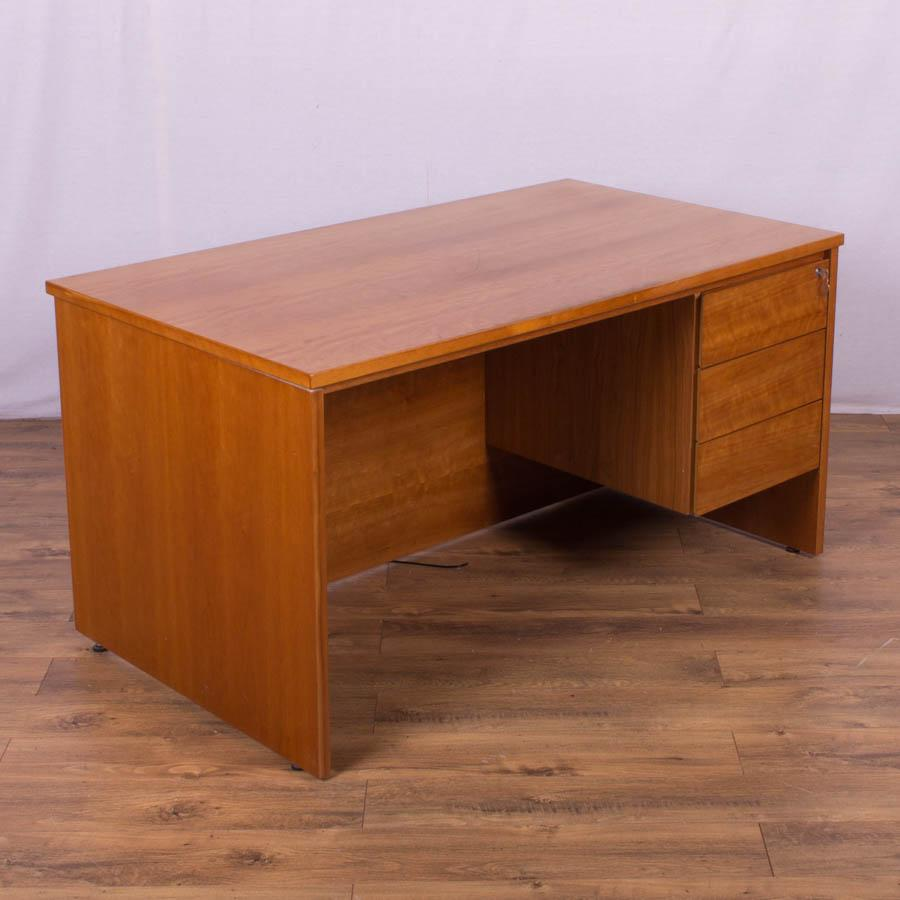 wood sauder hutch desk shoal office set jamocha creek
