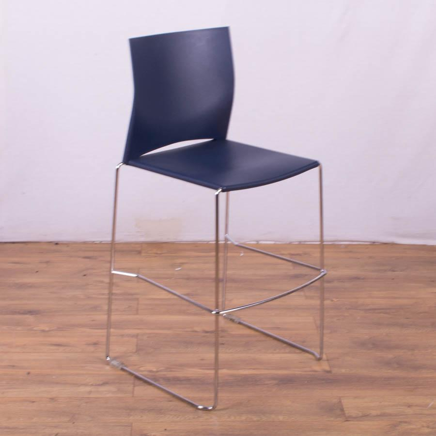 Connection Xpresso Dark Blue High Stool