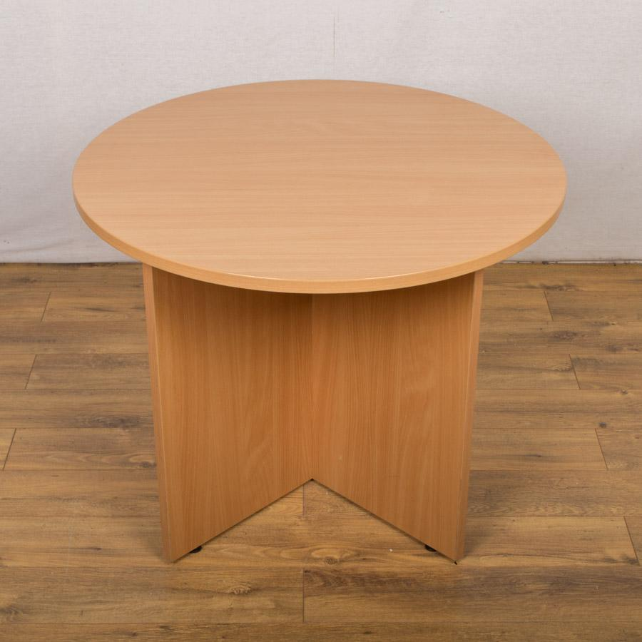 Senator Beech 900D Round Office Table