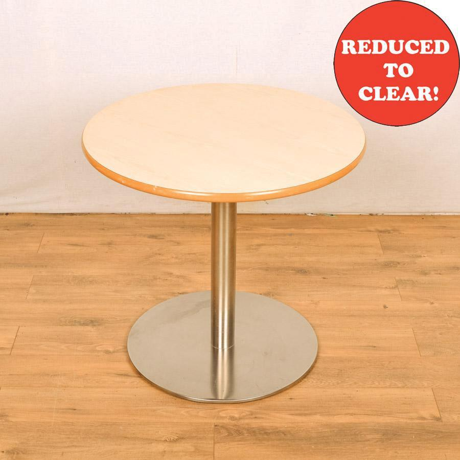 Maple (Light) 800D Round Meeting Table (RT10)