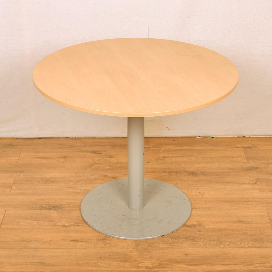 Maple 900D Round Office Table (RT21)