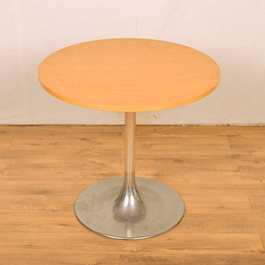 Beech Veneer 800D Round Office Table (RT32)