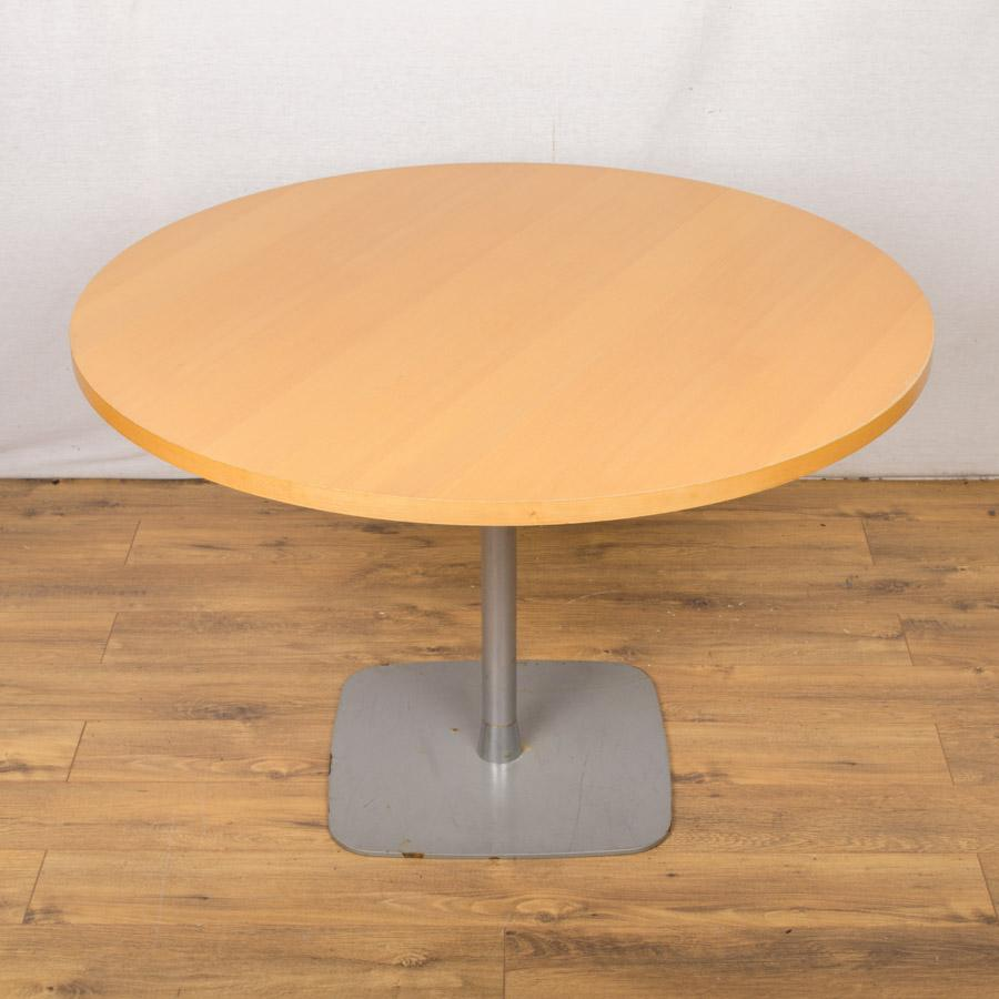 Beech Veneer 1100D Round Office Table (RT55)