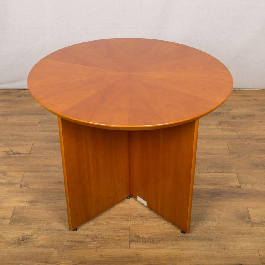 Sven Starburst Cherry Veneer 1000D Round Table (RT