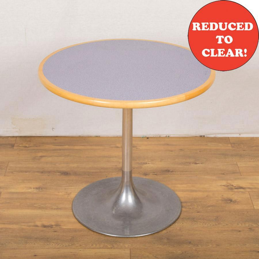 Purple Fleck 800D Round Cafe Table (RT67)