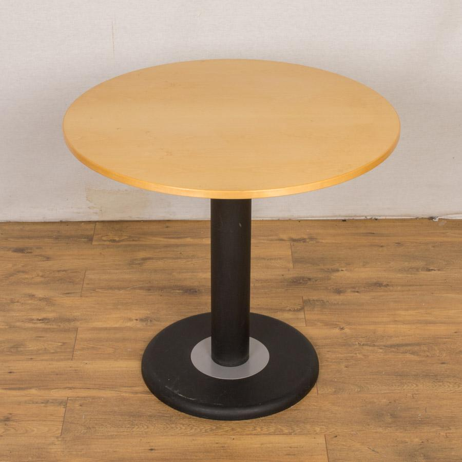 Maple Veneer 800D Round Office Table (RT73)