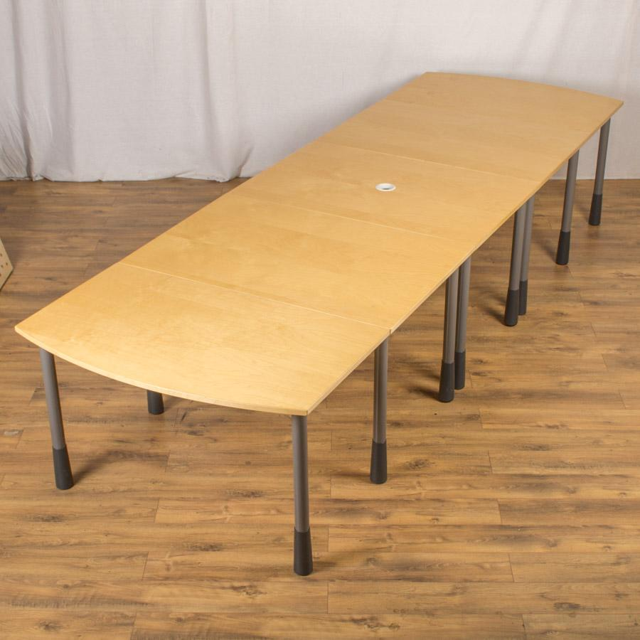 Kinnarps Maple Veneer 3800x1200 Boardroom Table