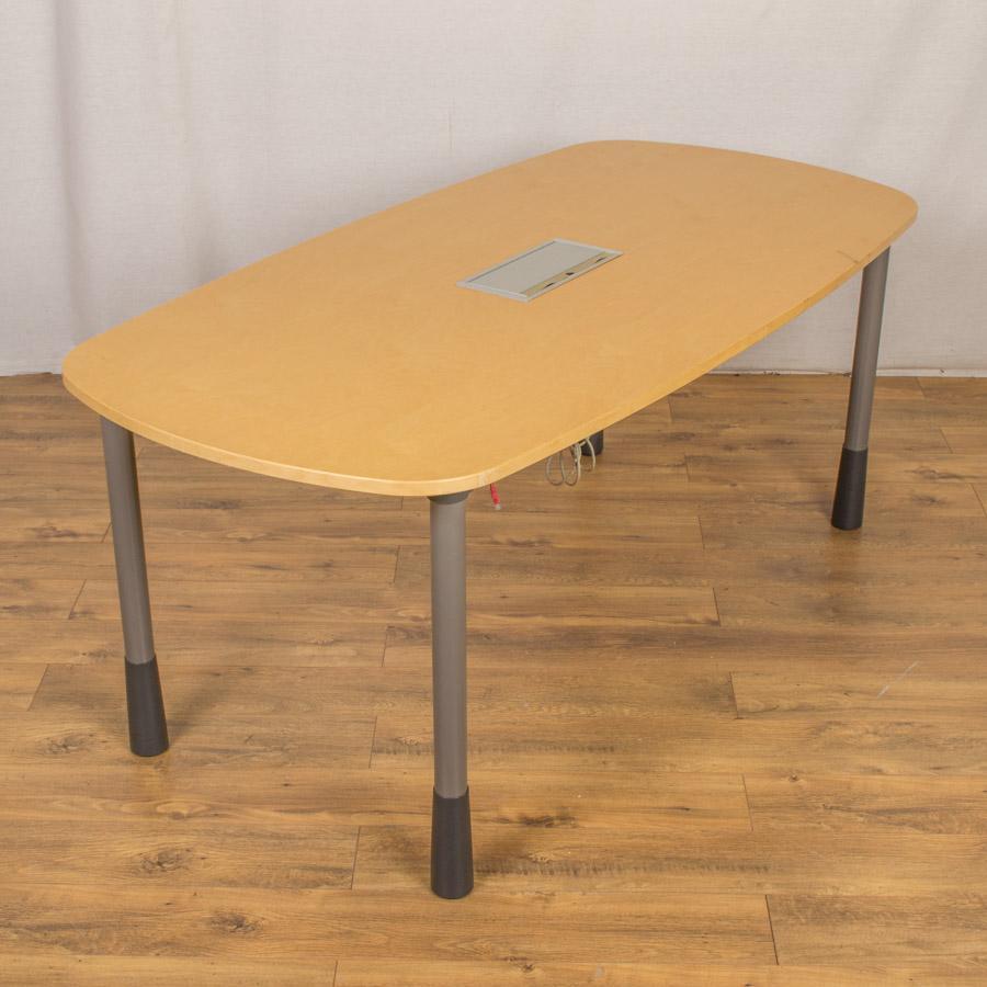 Kinnarps Maple Veneer 1800x900 Meeting Table (MT19