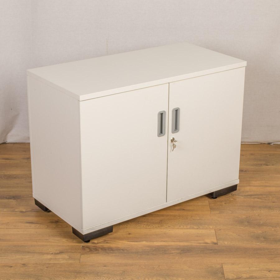 Senator White 750H Office Cupboard