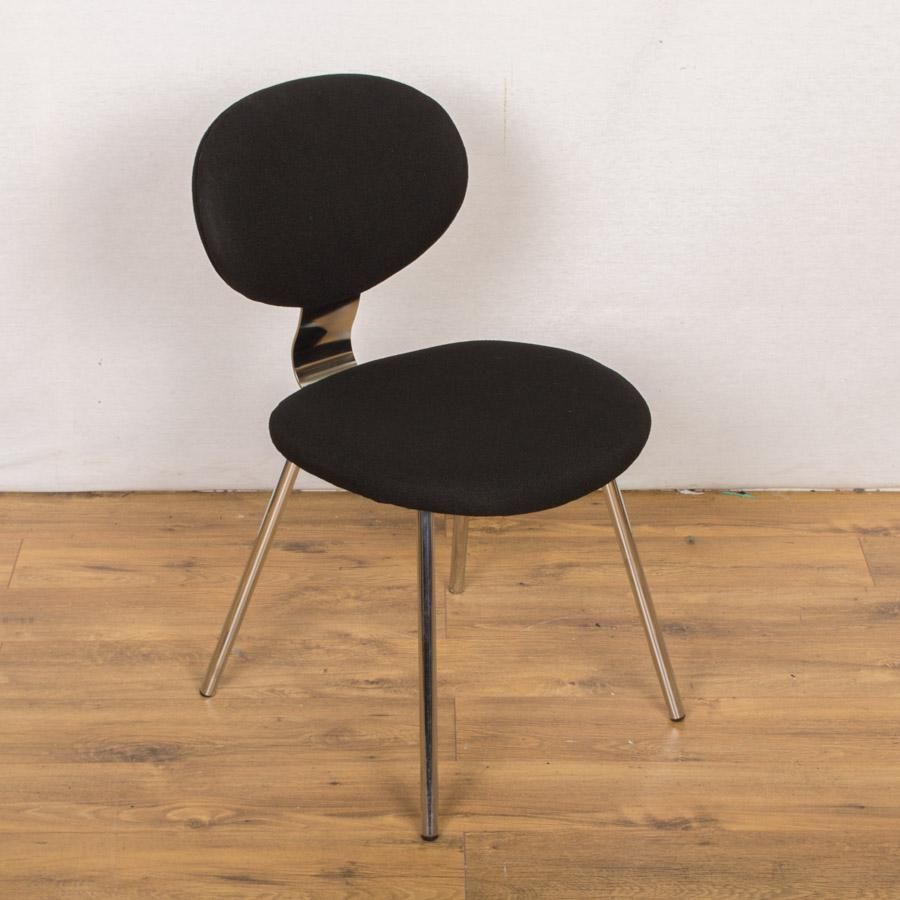 Allermuir Chrome Frame Stacking Chair