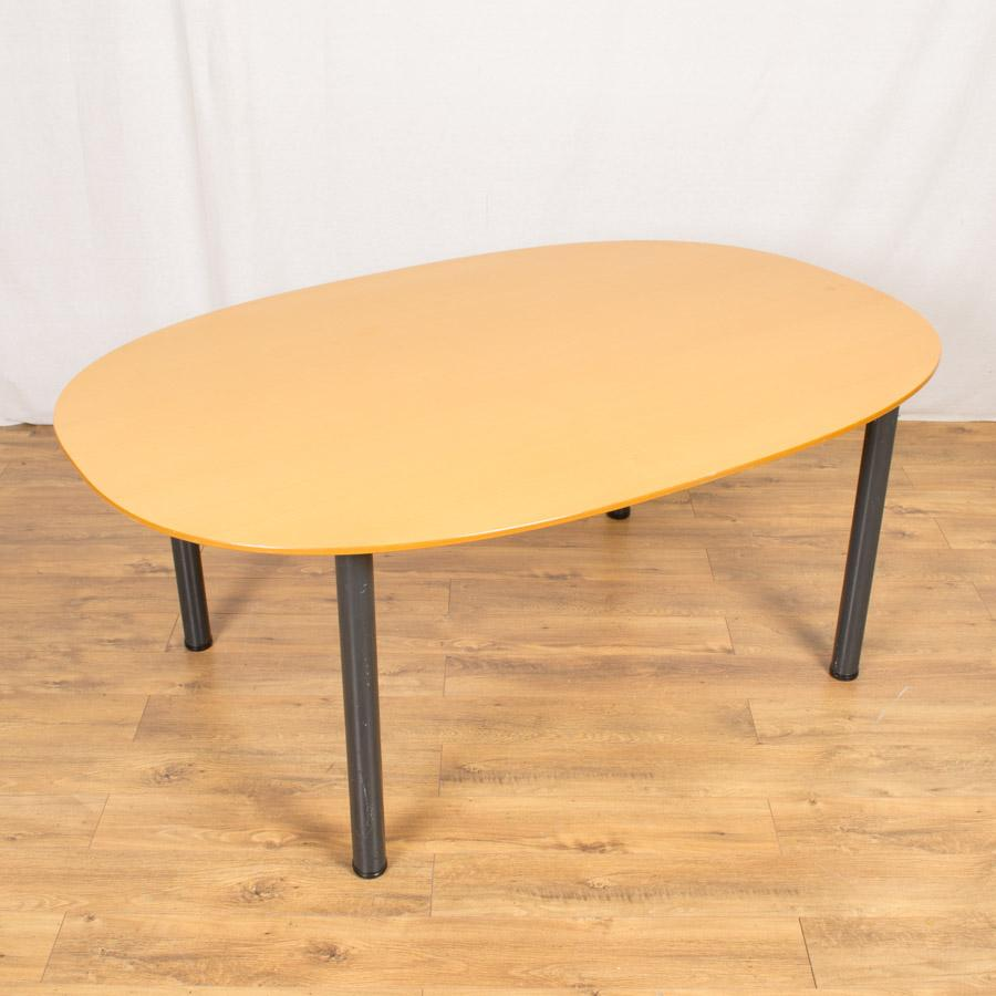 Beech Veneer 1800x1200 Meeting Table (MT199)
