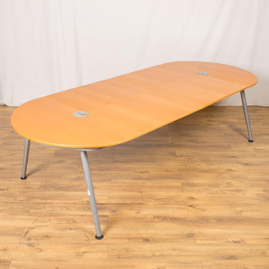 Galant Beech Veneer 2800x1200 Boardroom Table