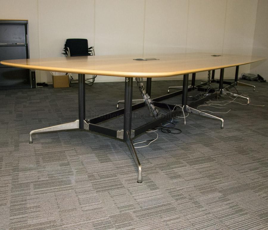 Vitra Eames Ash Veneer 5300x1650 Boardroom Table
