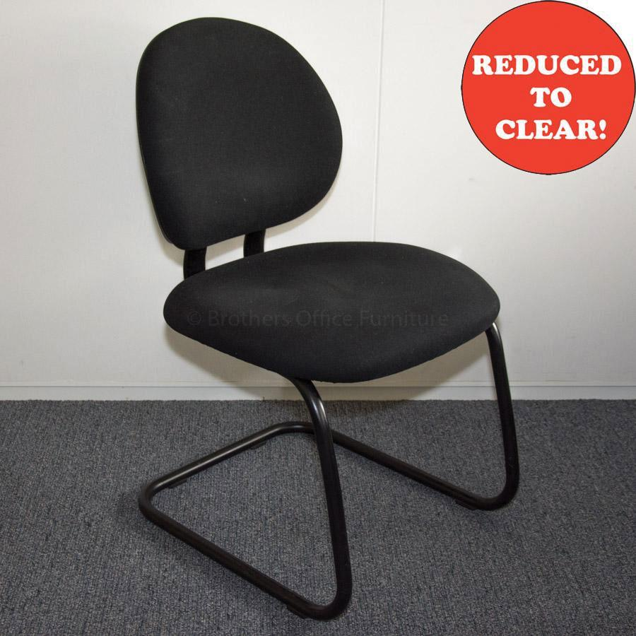 Steelcase Criterion Black Cantilever Meeting Chair